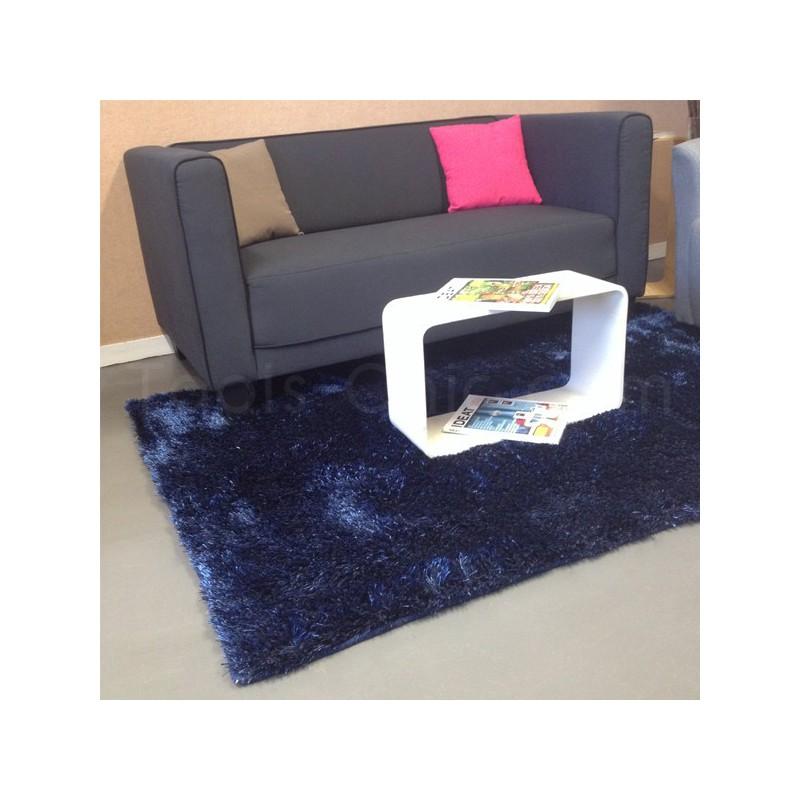 Tapis Shaggy Bleu New Glamour par Esprit Home