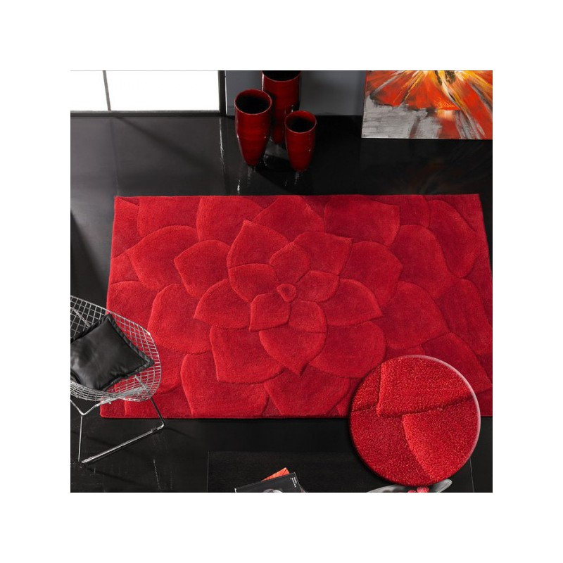 Tapis Design Kalista par Carving