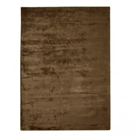 Tapis en Viscose Home Spirit Harold Chocolat marron