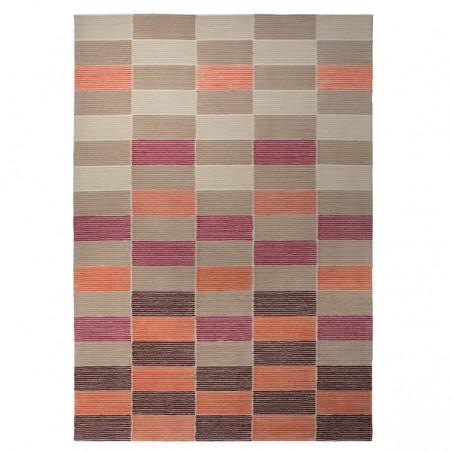 Tapis Fida Berry Orange à rectangles par Esprit Home