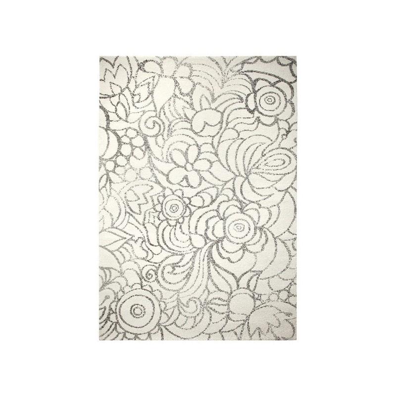 Tapis Floral Madison Blanc par Esprit Home