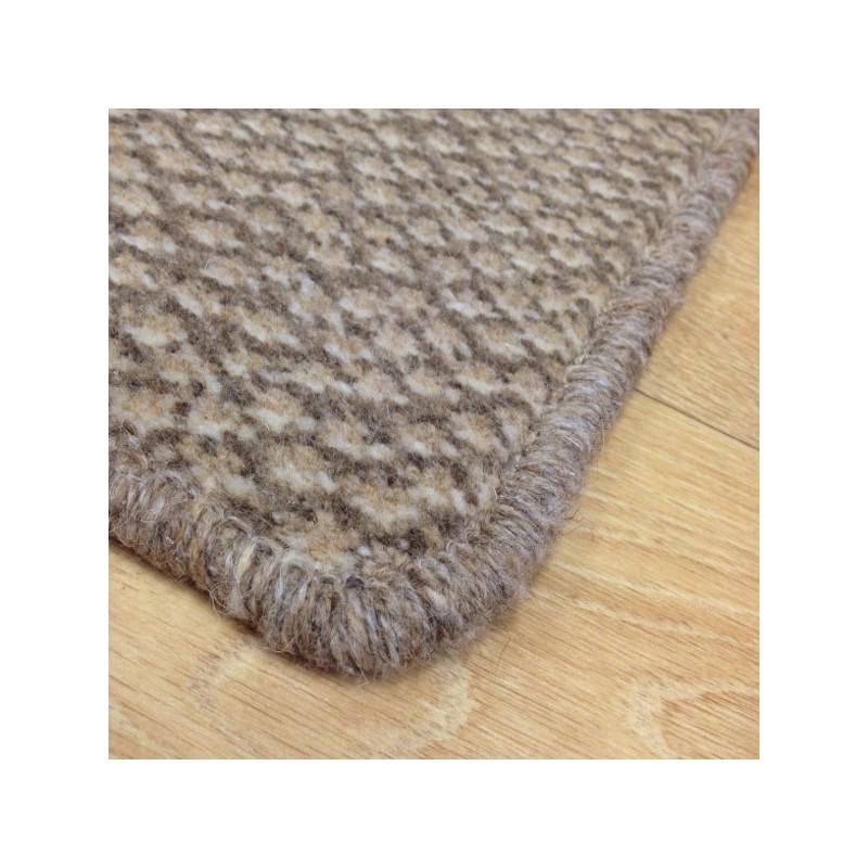Tapis sur mesure en laine Marron Clair Beige gamme Axminster