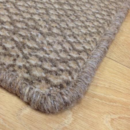 Tapis sur mesure en laine Marron Clair Beige gamme Axminster ...