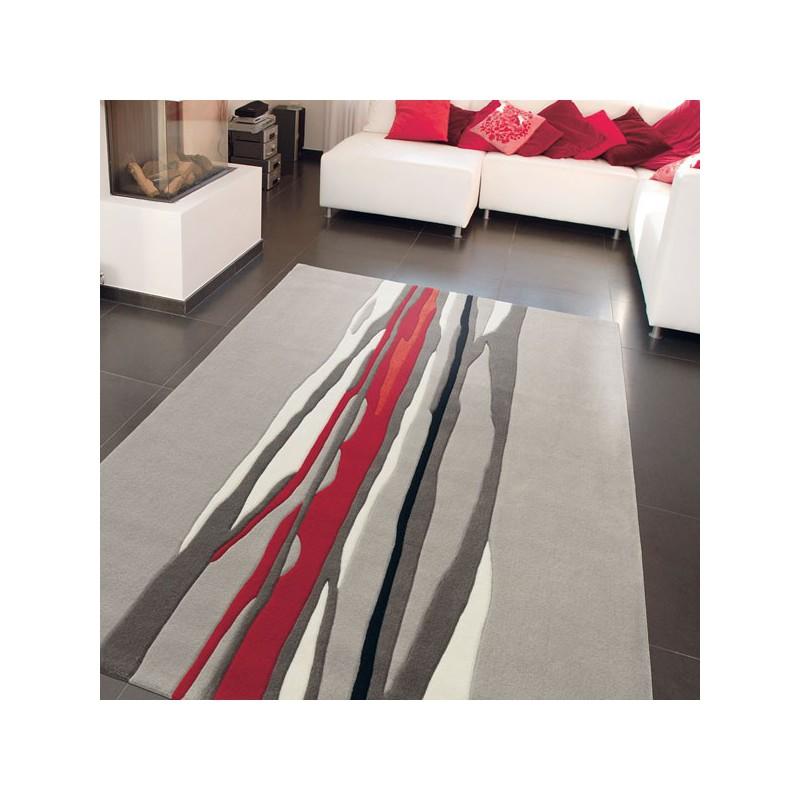 Tapis de Salon Red Trace par Arte Espina