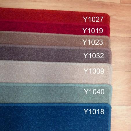 Echantillons du tapis sur mesure en laine York Wilton