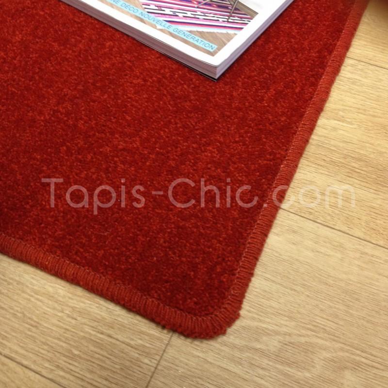 Tapis sur-mesure York Wilton Rouge Chiné Tapis Chic Collection