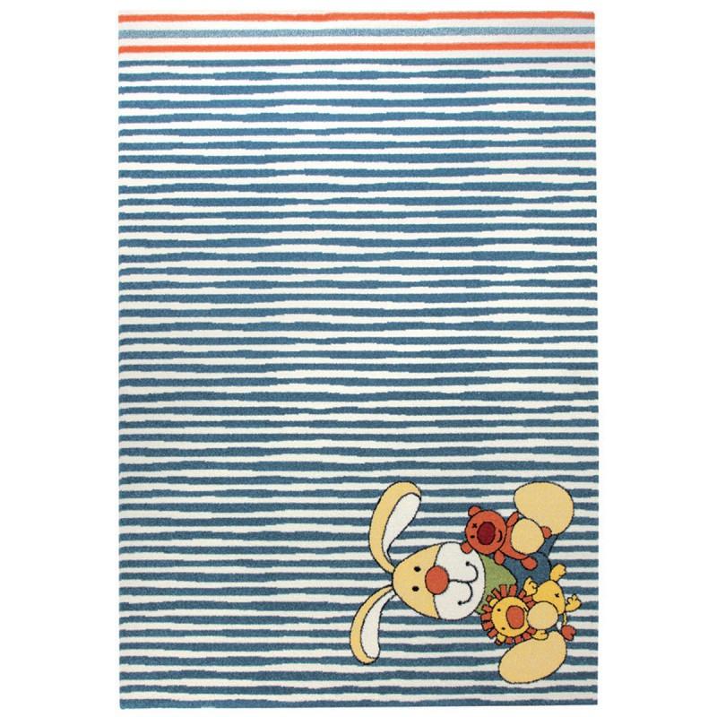 Tapis Enfant Bunny Bleu par Sigikid