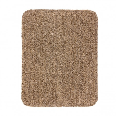 Paillasson marron en coton par Tapis Chic Collection