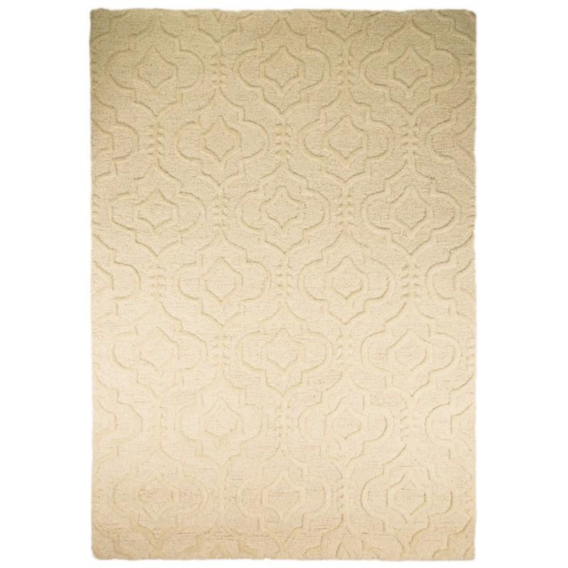 Tapis en laine beige Marrakech par Flair Rugs