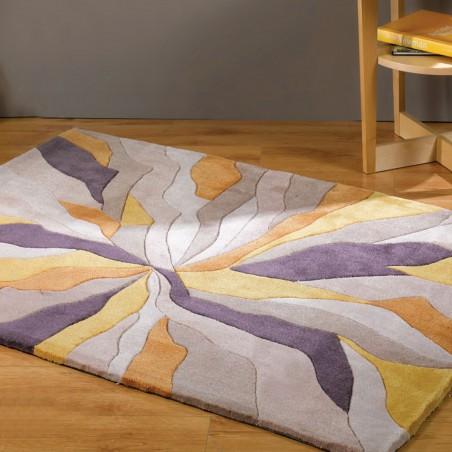 Tapis Design Infinite Ocre par Flair Rugs
