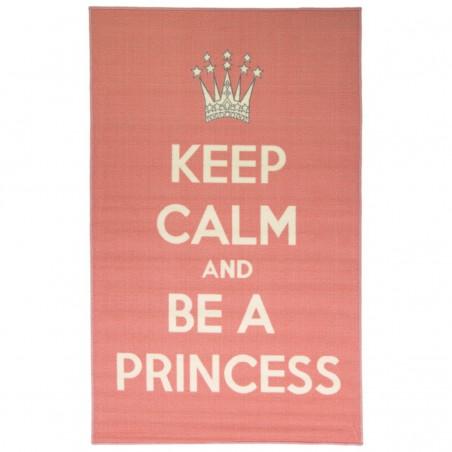 Tapis Keep Calm Be a Princess par Flair Rugs