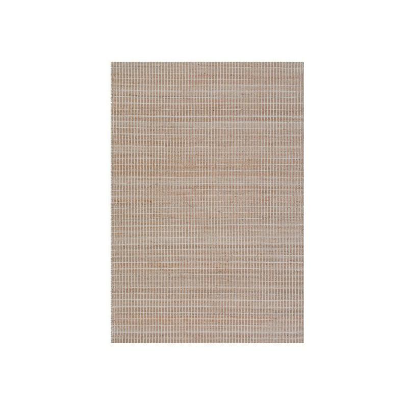 Tapis beige Ligne Pure fait en jute et en coton à la main