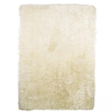 Tapis rectangulaire et rond blanc shaggy épais Pearl blanc par Flair Rugs