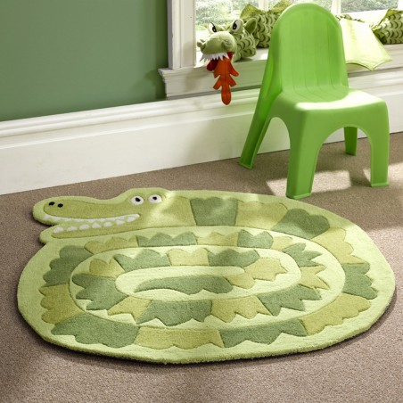 Tapis enfant Crocodile par Tapis Chic Collection