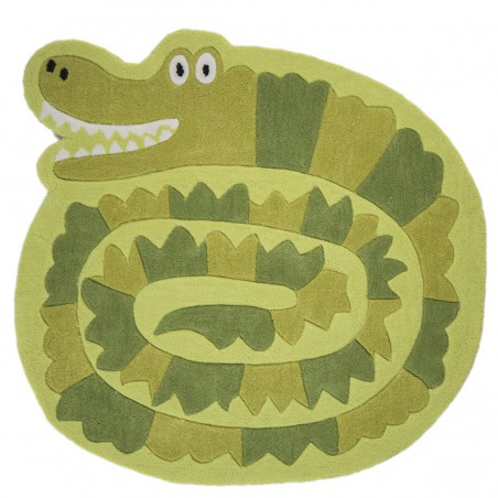 Tapis enfant Crocodile par Tapis Chic Collection