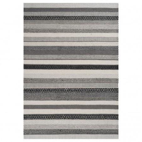 Tapis design gris Mariko par Linie Design
