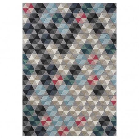 Tapis design multicolore Colmena par Linie Design