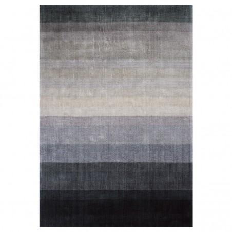 Tapis haut de gamme bleu Combination par Linie Design