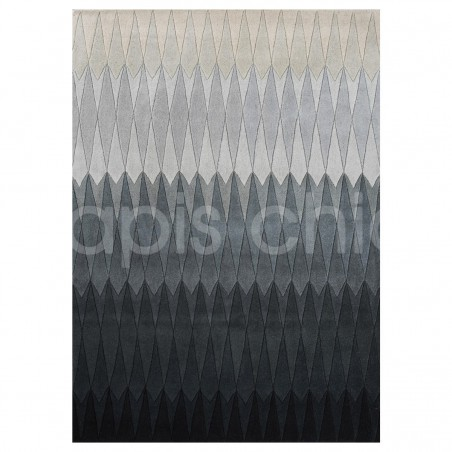 Tapis Design Gris Acacia par Linie Design