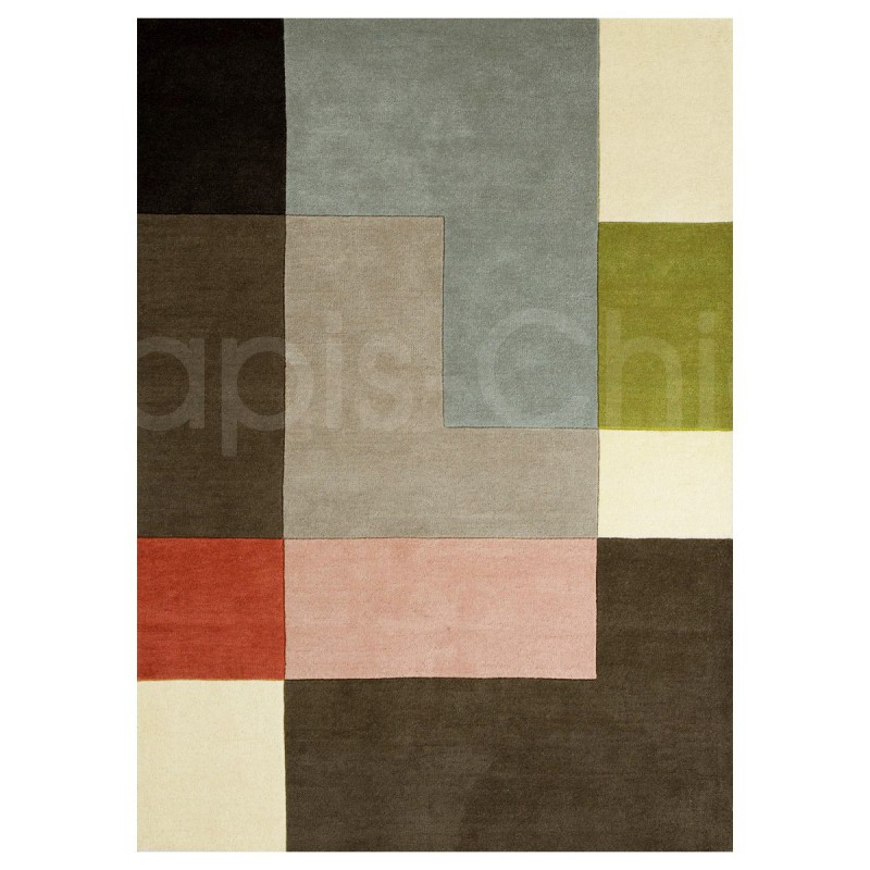 Tapis design Tetris Powder par Linie Design