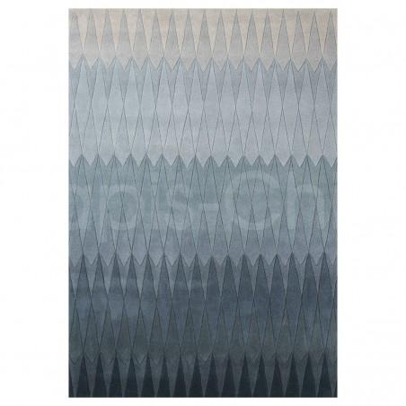 Tapis Design Bleu Acacia par Linie Design