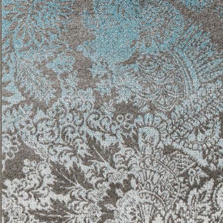 tapis de salon petit palais bleu et gris par arte espina. Black Bedroom Furniture Sets. Home Design Ideas