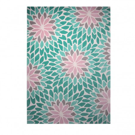 Tapis moderne Lotus bleu par Esprit Home