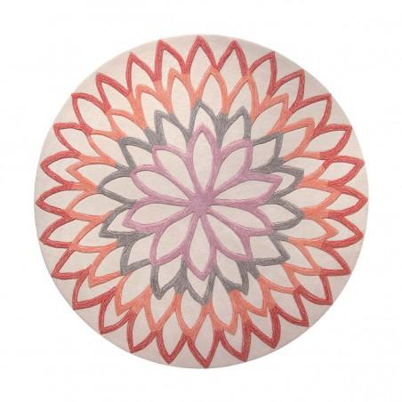 Tapis moderne Lotus Flower orange par Esprit Home