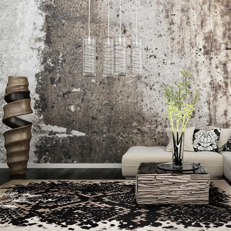 Tapis moderne Phyton gris African Safari par Tapis Chic collection