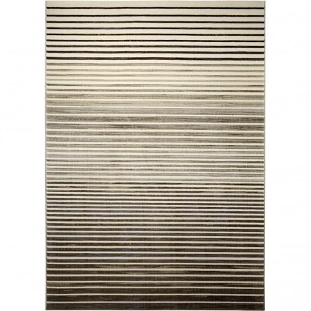 Tapis de salon à Rayures Nifty Beige Marron Stripes par Esprit Home