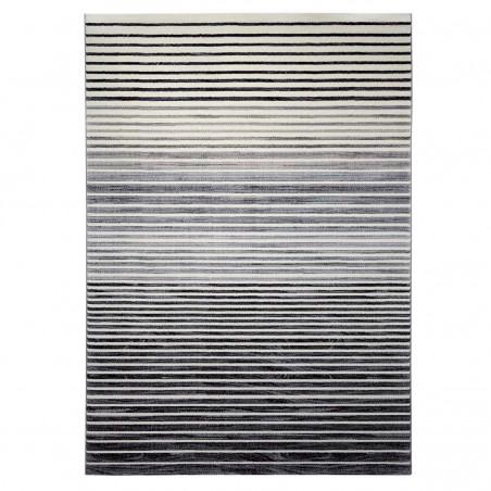 Tapis de salon à Rayures Nifty Gris Stripes par Esprit Home