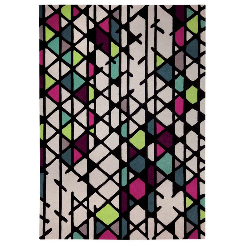 Tapis moderne Esprit Home Artisan Pop multicolore