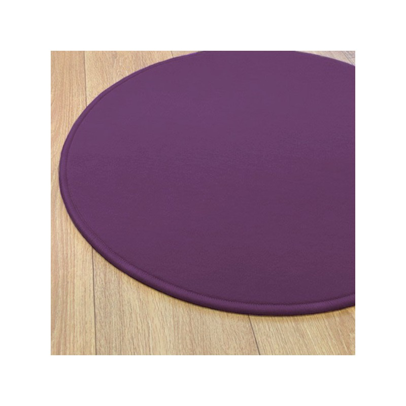 Tapis sur mesure rond Violet par Vorwerk gamme Modena