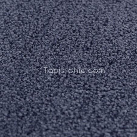 tapis sur mesure rond bleu marine par vorwerk gamme lyrica. Black Bedroom Furniture Sets. Home Design Ideas