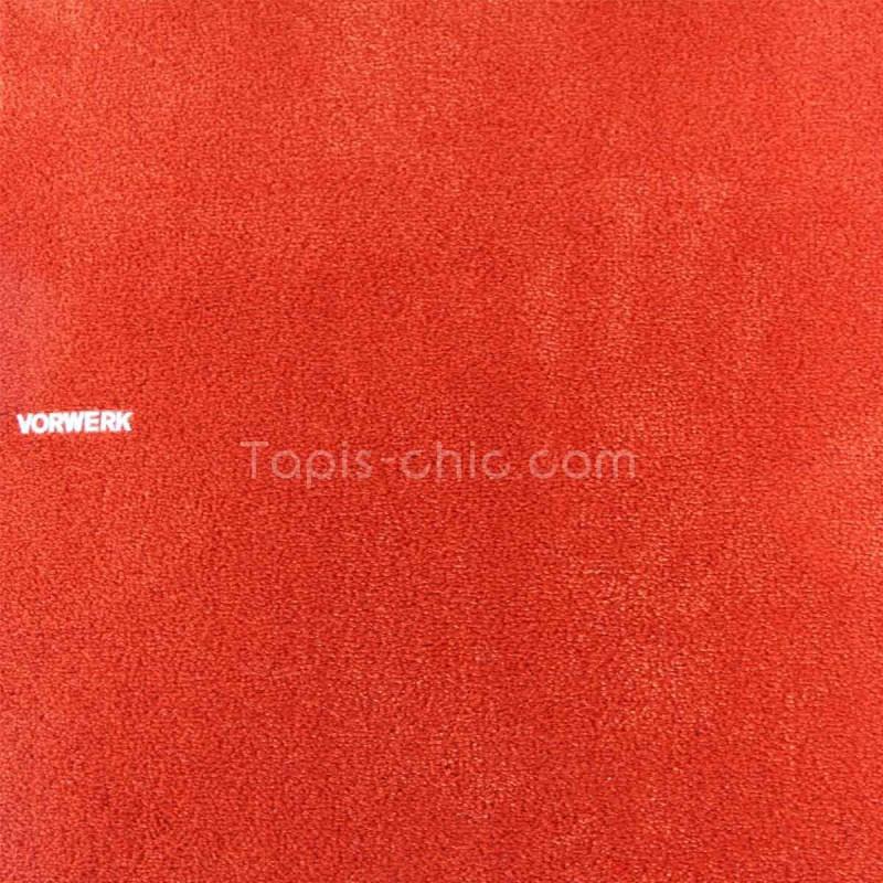 Tapis sur mesure Orange Vif gamme Safira par Vorwerk