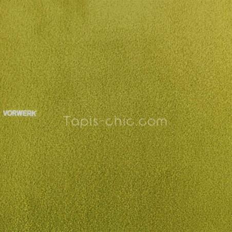 Tapis sur mesure Vert Anis gamme Safira par Vorwerk