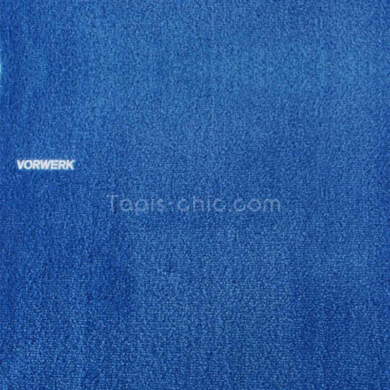 Tapis sur mesure Bleu Roi gamme Safira par Vorwerk