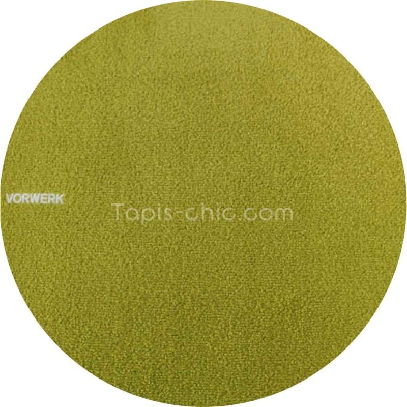 Tapis sur mesure rond Vert Anis gammeSafira par Vorwerk