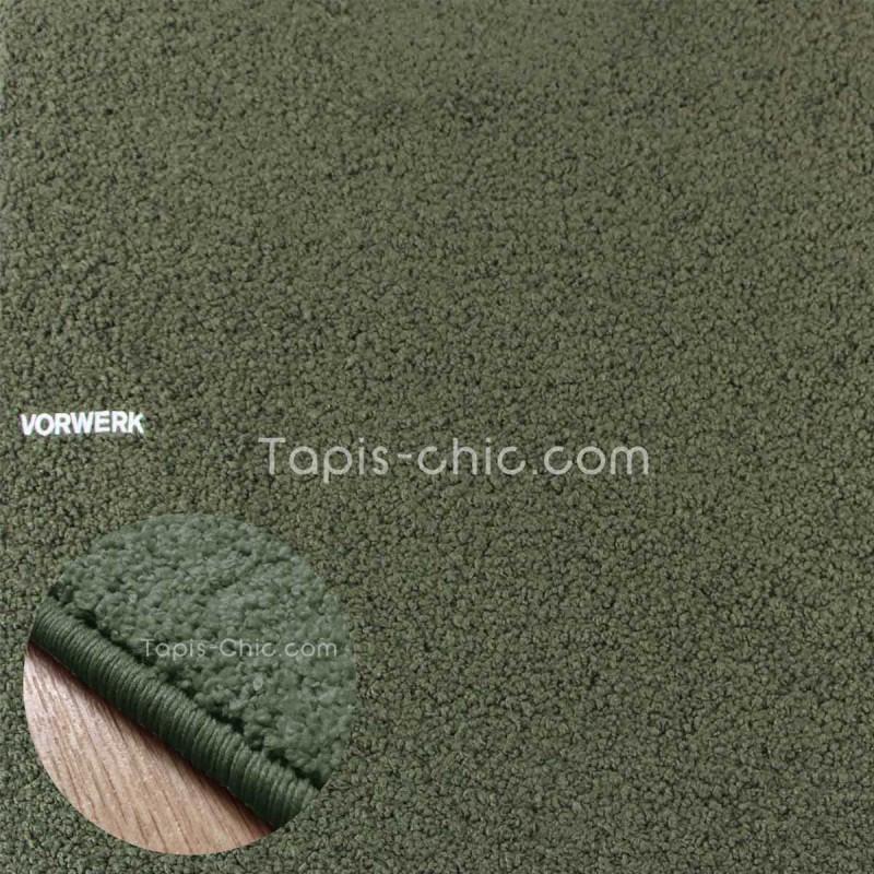 Tapis sur mesure Vert Foncé gamme Larea par Vorwerk