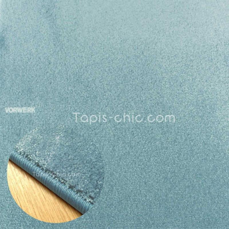 Tapis sur mesure Bleu Ciel gamme Lyrica par Vorwerk