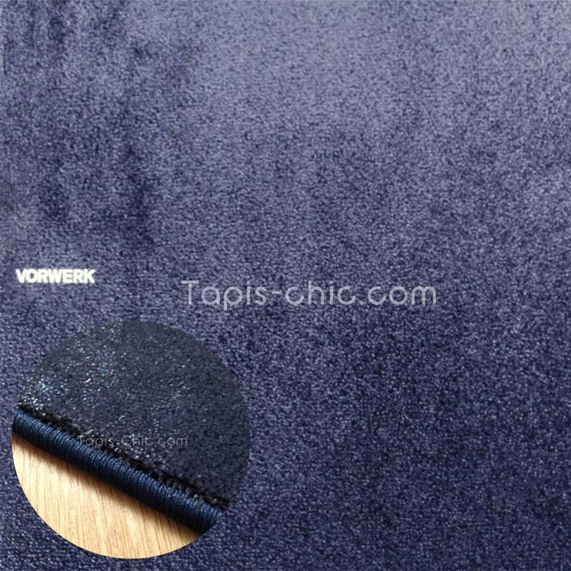 Tapis sur mesure Bleu Marine gamme Lyrica par Vorwerk