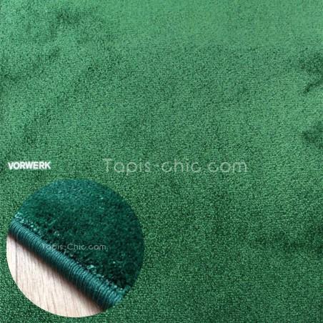 Tapis sur mesure Vert Sapin gamme Lyrica par Vorwerk
