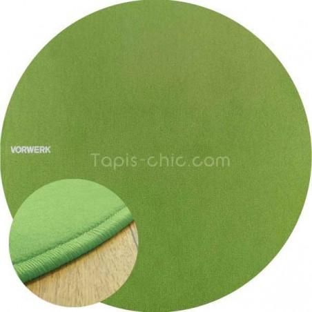 Tapis sur mesure rond Vert Argile par Vorwerk gammeModena