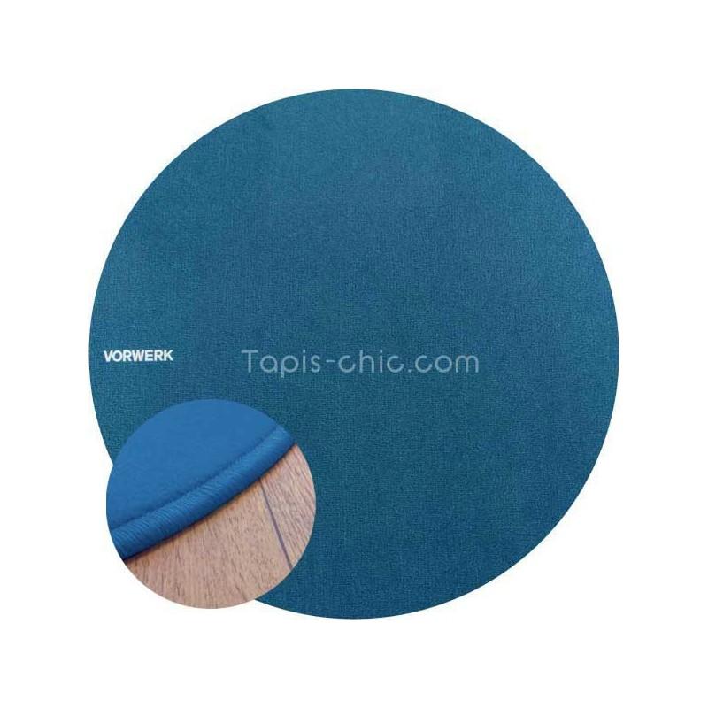 Tapis sur mesure rond Bleu par Vorwerk gammeModena