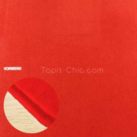 Tapis sur mesure Rouge par Vorwerk gammeModena