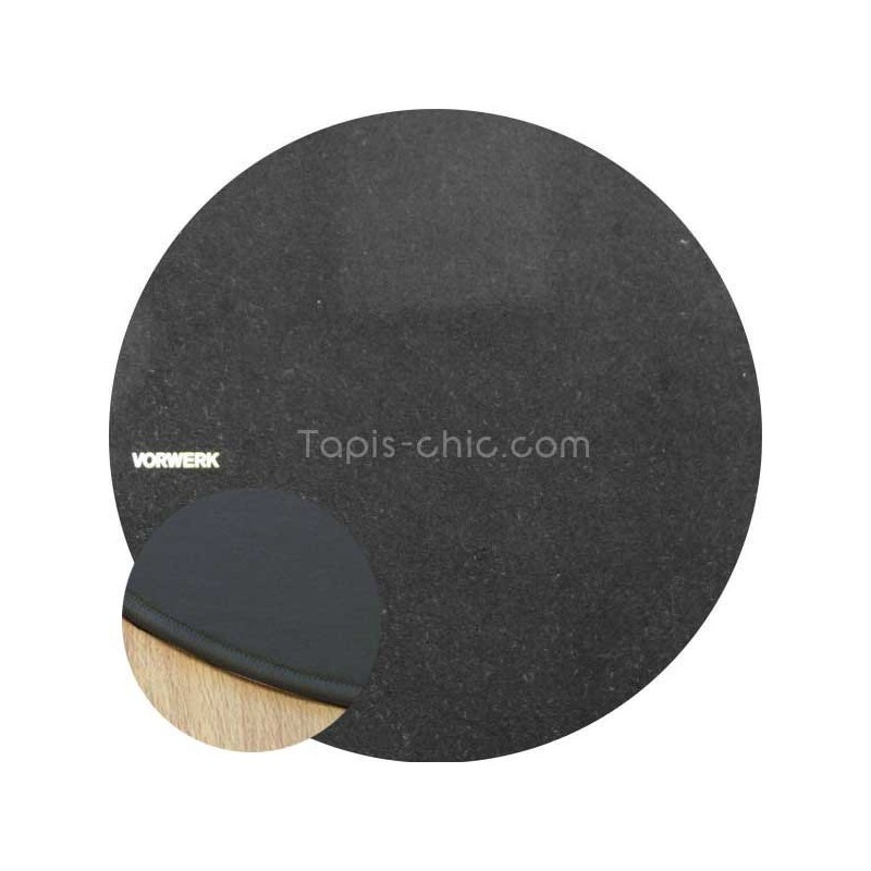 Tapis sur mesure rond Noir par Vorwerk gammeModena