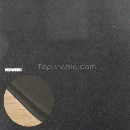Tapis sur mesure Noir par Vorwerk gammeModena