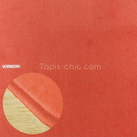 Tapis sur mesure Orange Corail par Vorwerk gammeModena