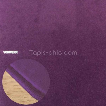 Tapis sur mesure Violet par Vorwerk gammeModena