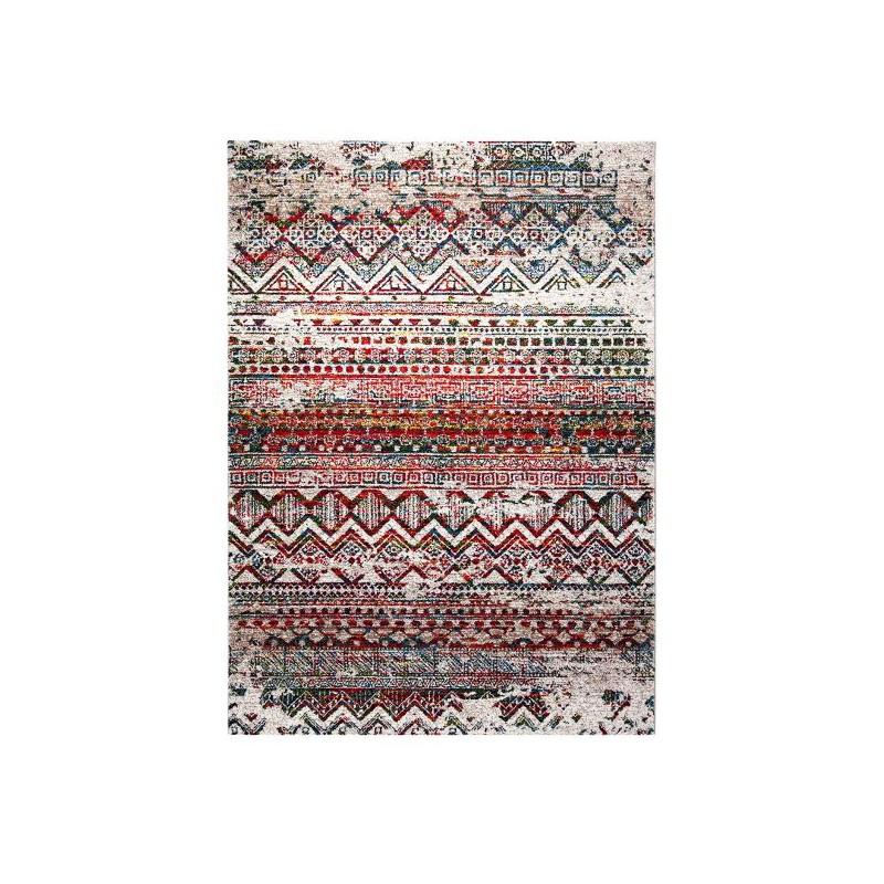 Tapis de salon Riad Colorful Marrakesh par Wecon Home